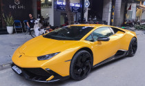 Lamborghini Huracan từng của Cường Đô-la bất ngờ xuất hiện tại Hà Nội