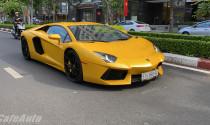 """Lamborghini Aventador tứ quý 9 xuống phố sau 1 năm """"ở ẩn"""""""