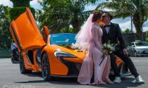 Chú rể Cần Thơ mang McLaren 650S Spider đi rước dâu cùng Rolls-Royce Ghost
