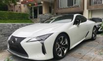 """""""Hàng độc"""" Lexus LC500 2020 bất ngờ về tay đại gia chơi xe khét tiếng Hà thành"""
