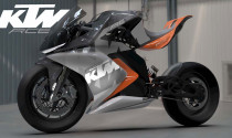 Ý tưởng mô tô điện dựa trên KTM RC8 đầy ấn tượng của người Ấn Độ