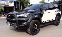 Chưa đã với bản facelift, dân chơi Thái mang đầu Toyota Hilux 2021 lên Toyota Fortuner mới
