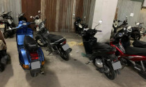 Gửi xe máy ở chung cư: nhìn mà phát bực