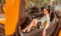 """Ca sĩ Đoàn Di Băng tậu McLaren 720S Spider hơn 20 tỷ  màu cam: cánh gió """"lạ"""" gây sự chú ý"""