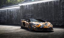 Lamborghini Aventador SVJ 63 độc nhất thế giới ra mắt: nước sơn rằn ri, nhiều chi tiết carbon mờ