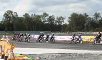 Kết thúc vòng 10 giải đua xe chuyên nghiệp toàn quốc
