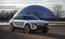 Cadillac công bố SUV chạy điện có thiết kế khá kỳ dị
