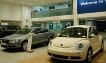 Hàng chục xe hơi Volkswagen nhập khẩu bị mắc kẹt