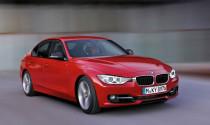 BMW công bố giá các mẫu xe BMW Series 3 2012 sedan