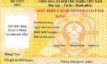 Từ quý II/2012, cấp giấy phép lái xe theo mẫu mới trên toàn quốc