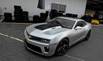 GM tiết lộ động cơ Chevrolet Camaro ZL1 phiên bản 2012