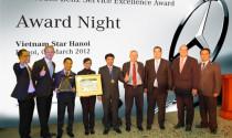 """Vietnam Star Hà Nội nhận giải """"Dịch vụ xuất sắc năm 2011"""""""