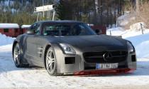 Mercedes SLS AMG Black Series: trên đường thử
