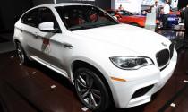 BMW X6 M phiên bản cải tiến tại New York Auto Show