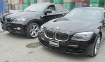 Bốn xe nhập lậu bị nghi ăn cắp từ Mỹ