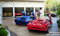 """Khám phá bộ sưu tập siêu xe """"khủng"""" Lamborghini và Ferrari"""