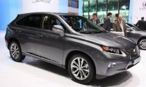 Lexus công bố giá bán hàng loạt mẫu xe mới