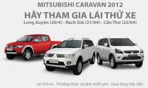 Trải nghiệm cùng Mitsubishi Caravan 2012