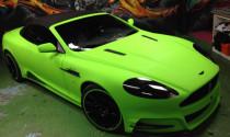 Mansory Aston Martin DB9 nổi bật tông màu xanh lá