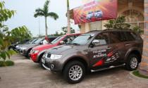 Mitsubishi Caravan 2012 kết thúc hành trình đầu tiên