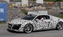 Video Audi R8 facelift 2013 chạy thử nghiệm