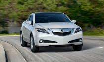 Acura ZDX 2013 cải tiến thiết kế và công nghệ