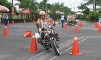 Honda Việt Nam tập huấn kỹ thuật lái xe cho lực lượng CSGT