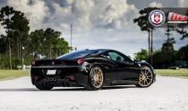 HRE Wheels nâng cấp Ferrari 458 Italia