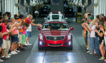 Cadillac bắt đầu sản xuất ATS 2013