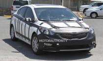 Kia Forte vẫn tiếp tục chạy thử nghiệm