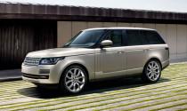 Range Rover 2013 giảm 408kg trọng lượng cơ thể