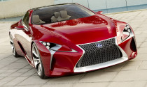 Lexus nâng cấp chiếc coupe thể thao LF-LC