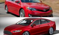 """Ford Fusion và Toyota Camry - """"kẻ tám lạng người nửa cân"""""""