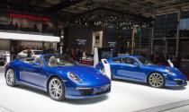 911 Carrera 4 và 4S tâm điểm của Porsche tại Paris Show 2012