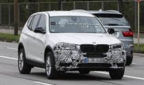 BMW X3 2014 chạy thử nghiệm
