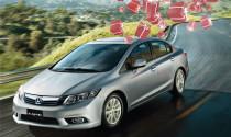 Khách hàng đầu tiên nhận SH khi lái thử Honda Civic và CR-V