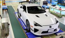 Lexus sản xuất phiên bản cuối cùng của siêu xe LFA