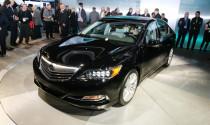 Acura RLX 2014 có giá khởi điểm từ 48.500 USD