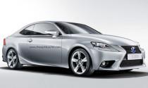 Lộ ảnh phiên bản Lexus IS Coupe mới