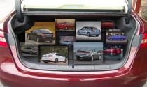 Top 10 xe sedan cỡ nhỏ có cốp lớn nhất