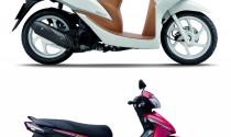 Honda Wave S, RS và Vision trẻ trung hơn với tem mới