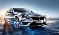 Lộ ảnh thực tế của Mercedes-Benz S-Class 2014