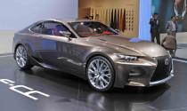 Lexus IS coupe ra mắt vào năm sau