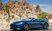 Aston Martin Vanquish có thêm bản mui trần