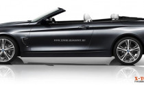 Tiết lộ hình ảnh BMW 4 Series convertible 2014