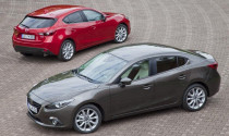 Sau hatchback Mazda3 tiết lộ mẫu sedan mới