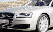 Audi A8 phiên bản nâng cấp rò rỉ hình ảnh trước ngày ra mắt