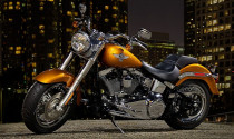 """Lộ diện """"chàng béo"""" Harley-Davidson FLSTF 2014"""