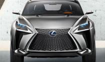 """Lexus """"nổi loạn"""" cùng mẫu LF-NX Crossover Concept mới"""
