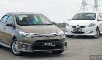 Sự khác biệt giữa Toyota Vios 2012 và 2013